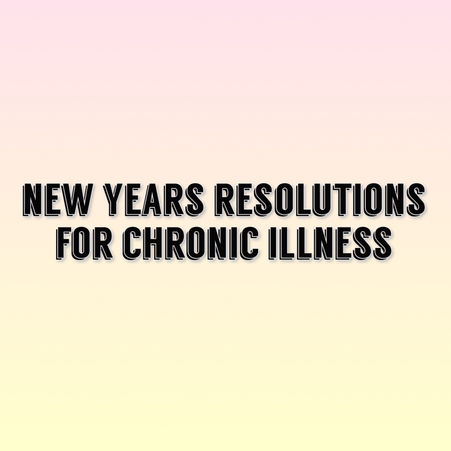 My First New Years Resolutions!